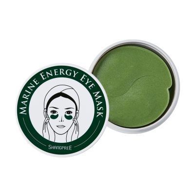 【支持购物卡】韩国SHANGPREE香蒲丽 绿公主眼膜60片