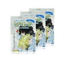 【香港直郵】日本本土COSME大賞Creer Beaute凡爾賽玫瑰凈白珍珠面膜3片*1盒(銀色保濕亮膚)