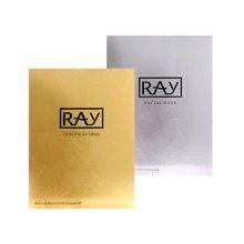 【泰国】RAY妆蕾 蚕丝面膜10片/盒 (金色1盒+银色1盒 组合)