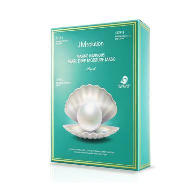 【支持購物卡】韓國JMsolution JM海洋珍珠面膜三部曲 10片裝