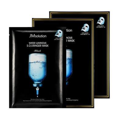 【支持購物卡】【2盒】韓國 JMsolution 急救補水針劑面膜 10片/盒
