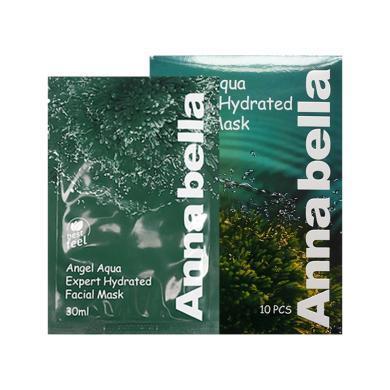 【支持購物卡】泰國ANNABELLA安娜貝拉 海藻面膜補水保濕滋養 30ml*10片