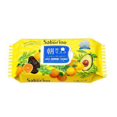 【支持購物卡】日本Saborino 早安面膜 牛油果面膜 32枚