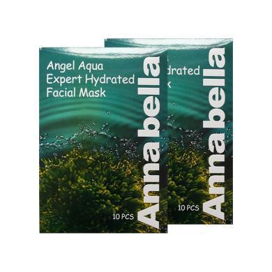 【2盒】泰國ANNABELLA安娜貝拉 海藻面膜補水保濕滋養 30ml*10片/盒