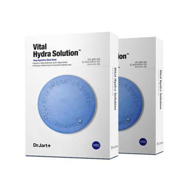 2盒裝 * 韓國蒂佳婷Dr.Jart+藍色強力保濕面膜 5片/盒