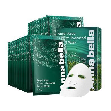 【支持購物卡】【3盒裝】泰國ANNABELLA/安娜貝拉海藻面膜 礦物質精華深層補水保濕10片/盒*3