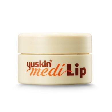 yuskin唇膏悠斯晶修護唇膏8.5g日本護唇膏補水保濕防干裂滋潤唇膜(有效期到2020年5月)