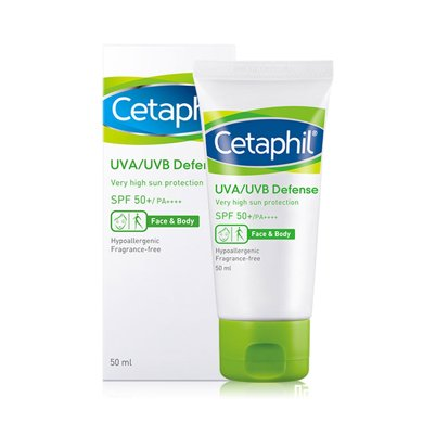 Cetaphil/丝塔芙倍护防紫外线乳SPF50++++  四季必备(有效期到20年11月)