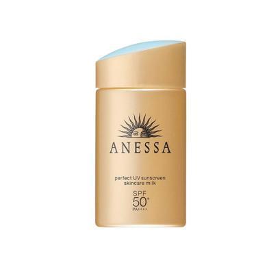 【支持购物卡】日本【18年新版】ANESSA/安热沙 安耐晒 防晒滋润露 金瓶 SPF50 60ML 国际版