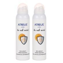 【2瓶?#21051;?#22269;Atreus 牛奶美白防晒喷雾 150ml