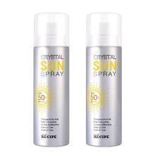 【2瓶】韩国RE:CIPE 水晶防晒喷雾 150ml