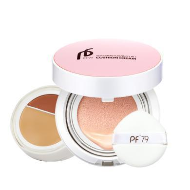 PF79 丝薄莹润三合一气垫BB霜 裸妆遮瑕 立体V脸 精致裸妆