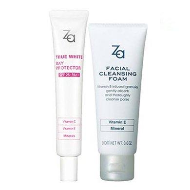 ZA姬芮護膚套裝(潔面膏100ml+隔離霜35克)