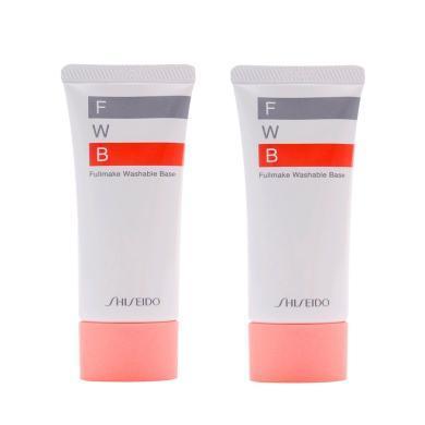 【支持購物卡】【2支】日本Shiseido資生堂 FWB免卸隔離乳妝前乳 35g
