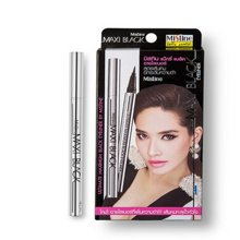 泰国Mistine银管眼线笔浓黑防水不晕染速干持久极细眼线液笔1g