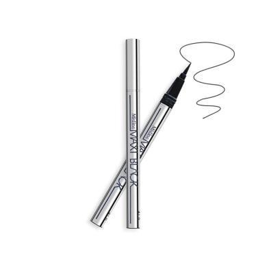 【支持購物卡】泰國Mistine蜜絲婷 濃黑銀管防水不暈染眼線筆 (黑色)