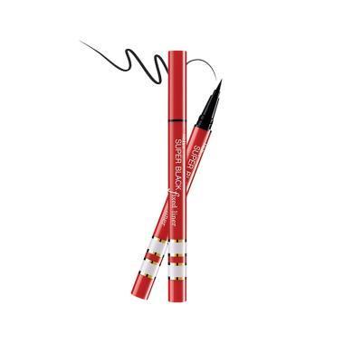 【支持購物卡】泰國Mistine蜜絲婷 紅管防水不暈染眼線筆 (超黑)