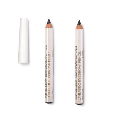 【支持購物卡】【2支】日本Shiseido資生堂 防水六角眉筆 1#黑色 1.2g