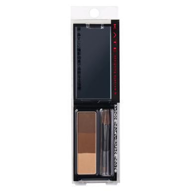【支持購物卡】日本KATE凱朵 三色造型眉粉 EX-5#深棕