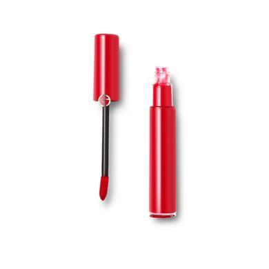 意大利Armani阿瑪尼 臻致絲絨啞光唇釉口紅 402#正紅瑪瑙 6.5ml