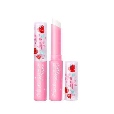 【支持購物卡】【2支】泰國Mistine蜜絲婷 小草莓唇膏口紅 夢幻變色潤唇膏1.7g