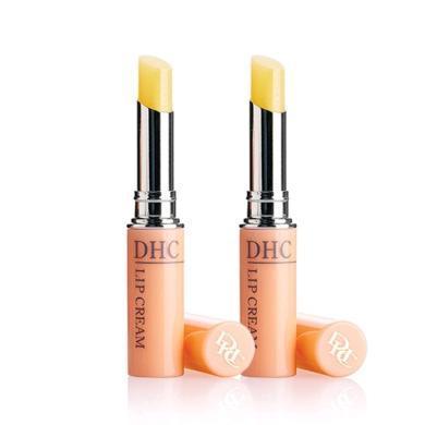 【支持购物卡】【2支】日本DHC蝶翠诗 橄榄精华护唇膏口红 1.5g/支