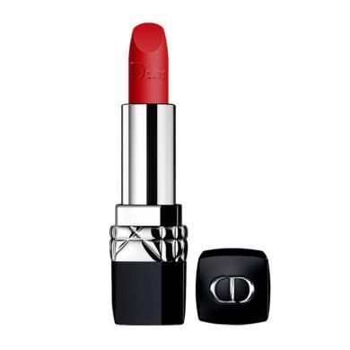 【支持购物卡】法国Dior迪奥 烈艳蓝金唇膏口红 999#传奇红唇 3.5g 滋润