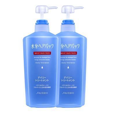 【2瓶】日本资生堂(Shiseido)水分精华护发素