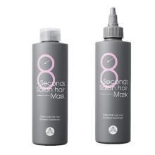 【支持购物卡】【2瓶装】MASIL/玛丝兰蜜丝 8秒沙龙发膜 200ML*2瓶