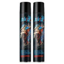 赫恩(H&E)男士发胶发蜡喷雾保湿蓬松定型干胶持久清香啫喱水420ML两只装