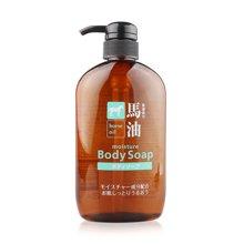 日本熊野油脂 马油沐浴露 无硅天然弱酸性600ml/瓶