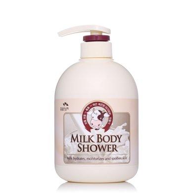"""所望牛奶沐浴露750ml """"小牛奶""""縱享嫩滑牛奶浴"""