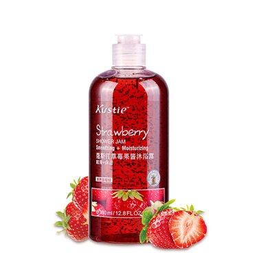 蔻斯汀草莓果醬香水沐浴露男女士持久留香全身保濕沐浴乳滋潤