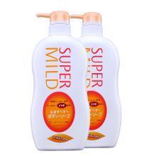 【2瓶】日本資生堂(Shiseido)詩波蜜柔(super mild) 花果香滋潤型沐浴露