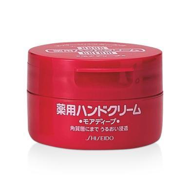 1罐*日本资生堂红罐护手霜 美白滋润大罐耐用 100g【香港直邮】