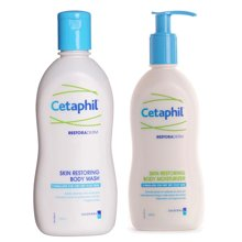 加拿大Cetaphil絲塔芙營潤修護潔膚乳295ml+絲塔芙營潤修護保濕乳295ml