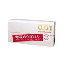 【日本】相模Sagami 改变人生的0.01mm超薄避孕套 5片