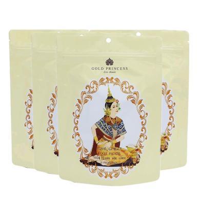 【支持購物卡】【4包】泰國Royal皇家足貼 竹醋足部腳貼祛濕足貼 10片/包 生姜版