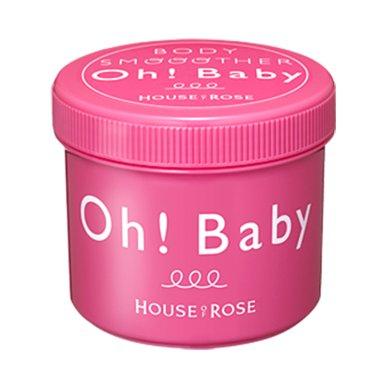 1盒*日本玫瑰屋OH  BABY身体磨砂膏570g【香港直邮】