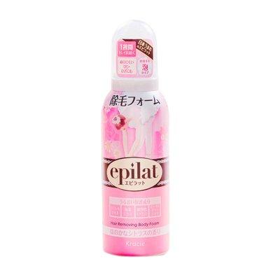 1瓶*日本epilat嘉娜寶脫毛慕斯女士全身腋下泡沫脫毛膏噴霧120g【香港直郵】