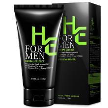 赫恩(H&E)男士冰海泥控油抗痘去角质洁面乳 150g(洗面奶 抗痘淡印 去角质 控油净爽)