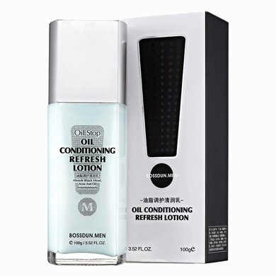 波斯頓男士油脂調護清潤乳保濕補水控油清爽護膚霜100g