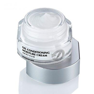 波斯頓男士油脂調護保濕霜面霜保濕補水控油乳霜鎖水面部精華霜55g