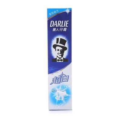 黑人超白牙膏天然薄荷香型(190g)