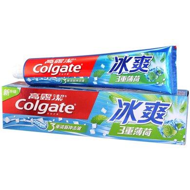 ¥高露潔冰爽薄荷牙膏(180g)