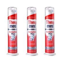 【3支装】【德国】Theramed汉高 泰瑞美超感美白牙膏100ml 红色