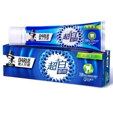 黑人超白極尚沁爽薄荷牙膏(120g)(120g)