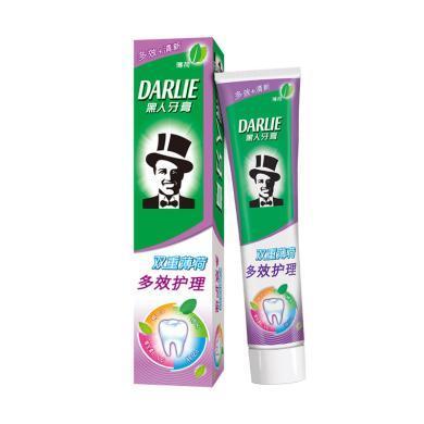 黑人雙重薄荷多效護理牙膏(180g)