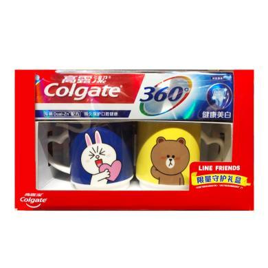 高露潔360牙膏-美白送LF贈品(200g+贈品)