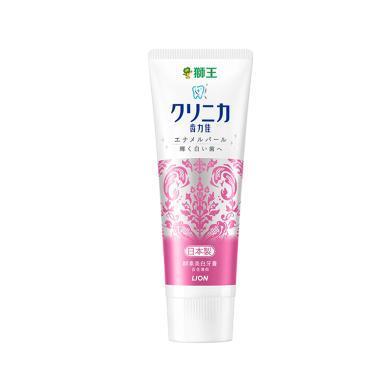 【支持購物卡】日本 獅王 Lion 珍珠美白牙膏 百花薄荷(新舊隨機)130g/支